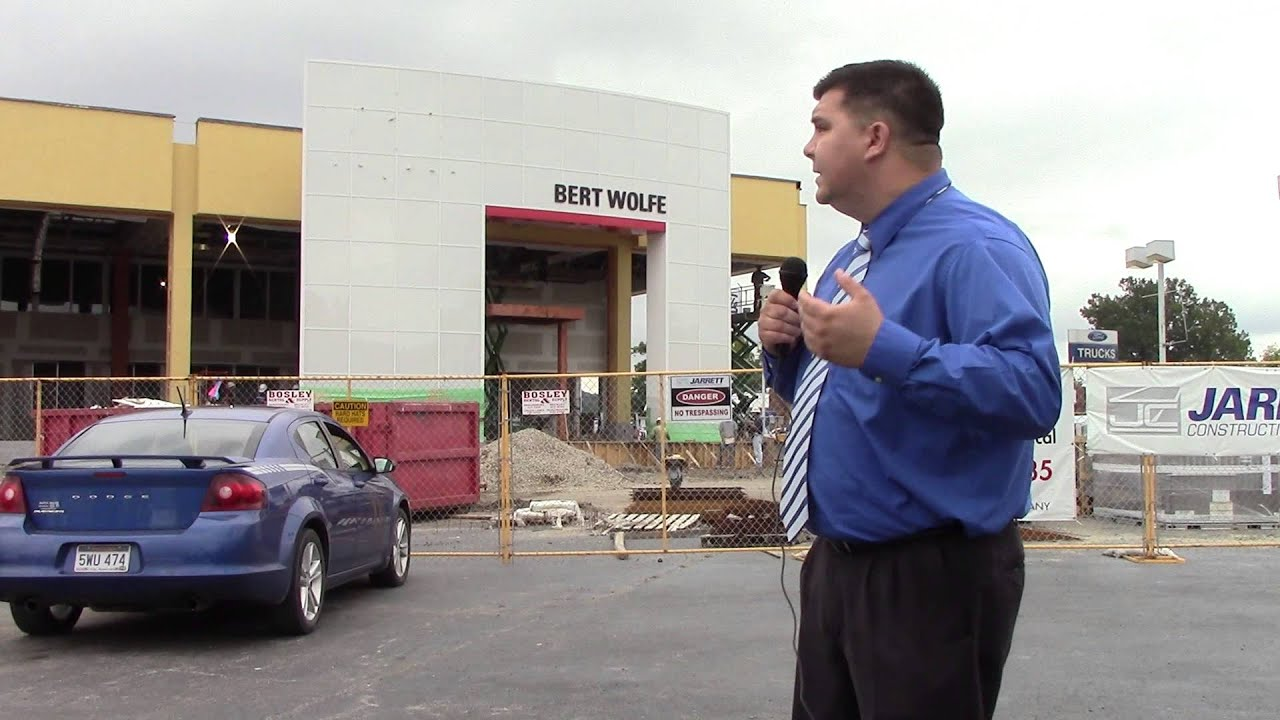Welcome To The New Bert Wolfe Toyota!