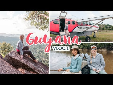 GUYANA Travel Vlog #1 - Rewa Lodge, Awarmie Mountain & ATTA Lodge and Canopy Walkway