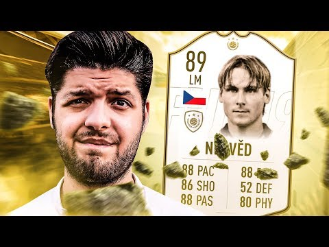 HOE GOED IS 89-RATED ICON PAVEL NEDVED?
