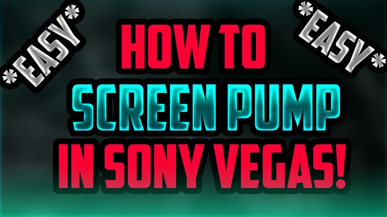 how to make rainbow screen sony vegas