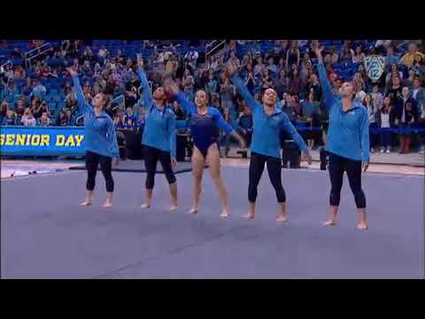 UCLA Gymnastics Senior Tribute 2018