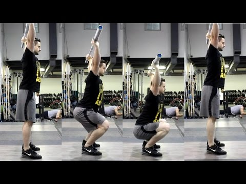 HOW To Overhead Squat: Mobility, Technique & Strength