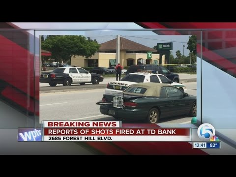 Police activity at TD Bank in Palm Springs