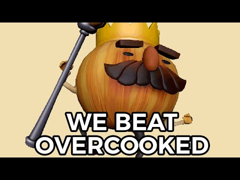 Overcooked but we actually beat the game |