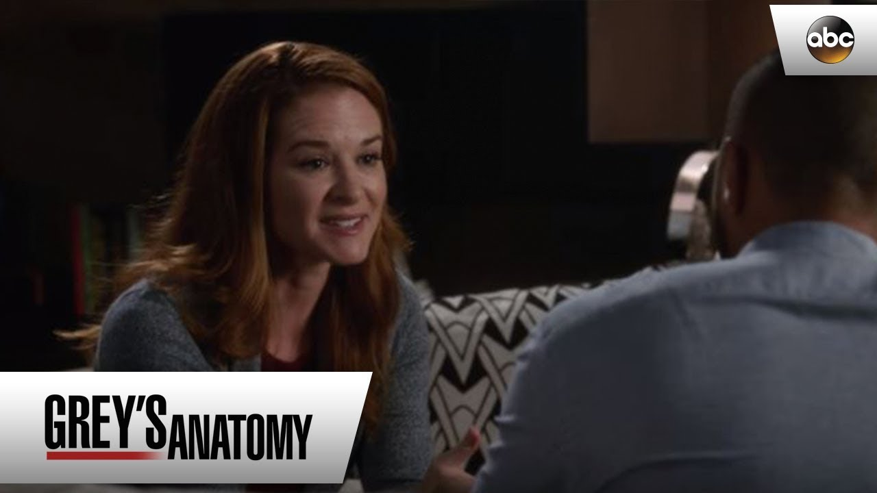 April Gets Honest With Jackson - Grey's Anatomy - YouTube