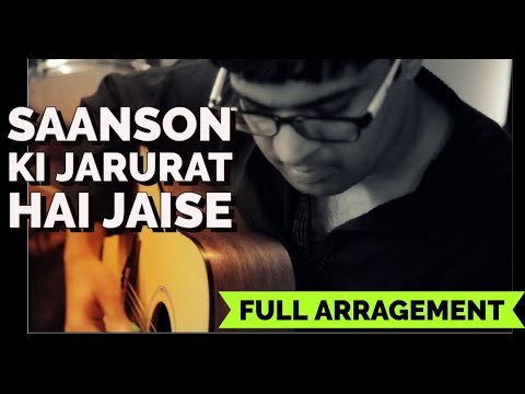 Saanson ki Jarurat Hai Jaise on Guitar | Aashiqui Instrumental Cover by Kapil | Kumar Sanu Songs