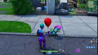 Red balloons are starting to appear across the map 🎈🤡 #Fortnite