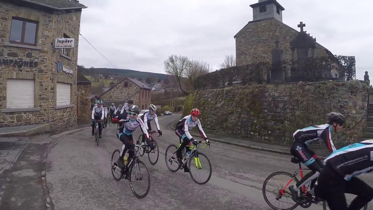 Trainingsweekend Zaterdag Impressie Ardennen! #PRCDelta