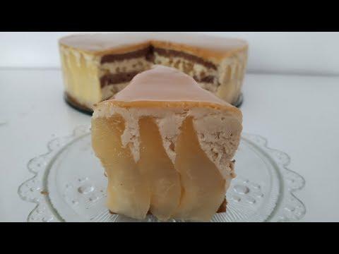gâteau-tiramisu-poires-et-caramel