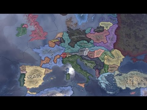 Hearts of Iron 4: Communist Revolutionary Wars Timelapse
