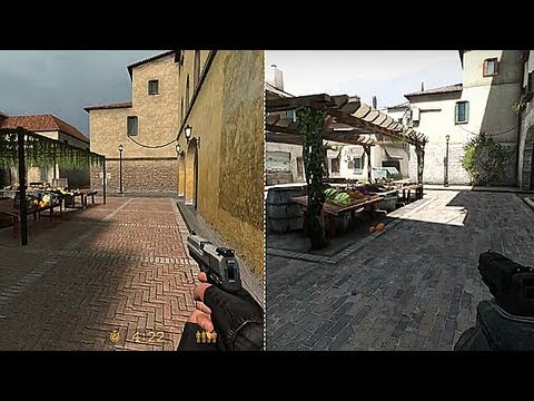 Counter-Strike: Global Offensive - Grafik-Vergleich: CS GO vs CS 1.6 vs CS Source thumbnail