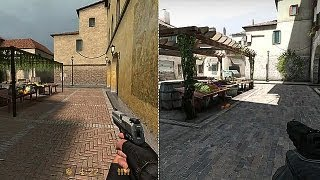 Counter-Strike: Global Offensive - Grafik-Vergleich: CS GO vs CS 1.6 vs CS Source