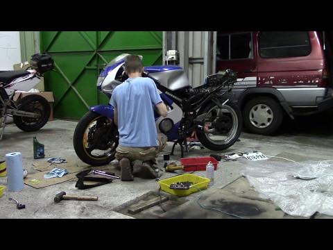 Yamaha FZR Rebuild