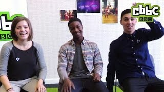 The Next Step cast in The Hot Seat - CBBC