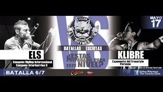 Els vs Klibre | Killer Rhymes