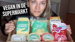 VEGAN IN DE SUPERMARKT | Met o.a. kaas,  cashew spread en drop