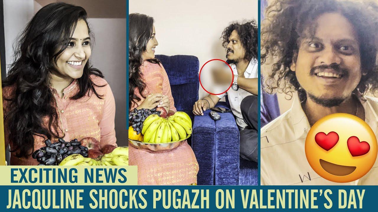 Download Jacqueline Shocks Pugazh on Valentine's day | Jack and Chill | Jaqueline | Pugazh