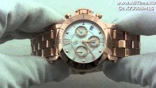 Обзор. Женские наручные швейцарские часы Gc X73008M1S