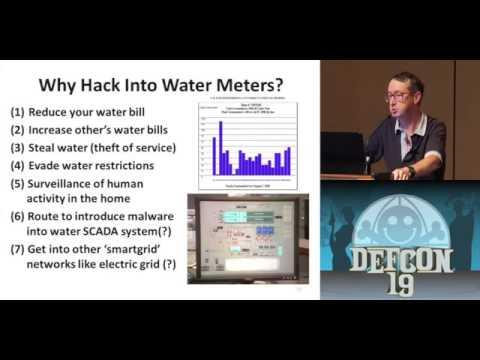 DEFCON 19 (2011) - Vulnerabilities of Wireless Water Meter Networks
