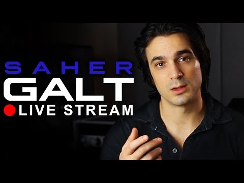 Saher Galt Live Stream! Music Q/A + New Single Viewing Party
