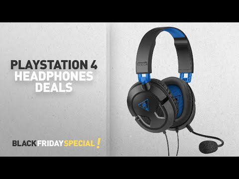 Top Black Friday Playstation 4 Headphones Deals: Turtle Beach Recon 50P Stereo Gaming Headset