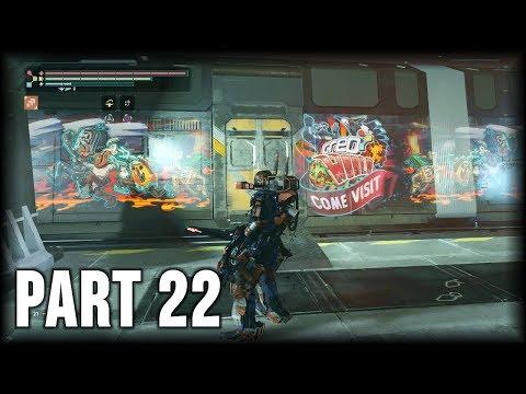 The Surge - 100% Walkthrough Part 22 [PS4] – Central Production B (NG++)