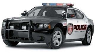 Police car + Pickup Truck , Coche de policía + Camioneta , Polizei Auto + Pickup-Truck