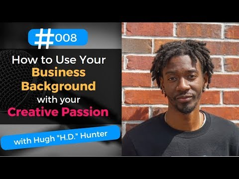 Using a BUSINESS Background to Fuel a CREATIVE Passion | Hugh Hunter | LaziMILLENNIAL Lounge