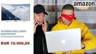 BLIND BEI AMAZON BESTELLEN !!! | PrankBrosTV