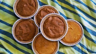 Easy No Bake Desserts | Thanksgiving Pumpkin Pie Recipe