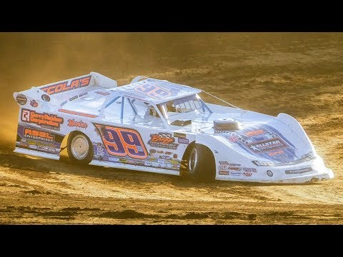 Boom Briggs #99B | In-Car Camera | Old Bradford Speedway | 8-13-17