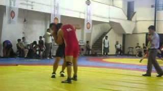 Luis Vaca (Bolivia 84kgs Estilo Grecoromano) Vs Chile