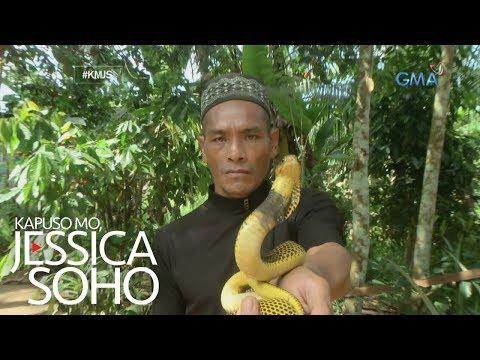 Kapuso Mo, Jessica Soho: Alias Dodong Ahas ng Bohol, kilalanin