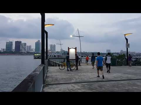 Windy Day at Woodlands Waterfront Promenade-Singapore (February 2018)