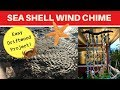 How to make a sea shell wind chime - Free diy - Tide Pool