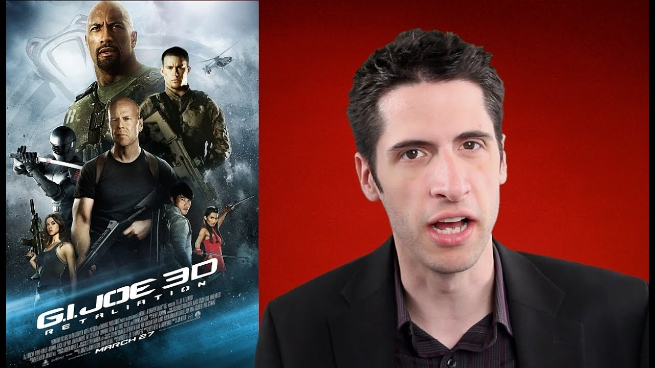 g.i. joe: retaliation movie review - youtube