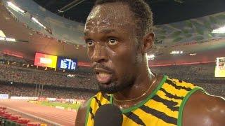 WCH 2015 Beijing - Usain Bolt JAM  100 Metres Heat 7