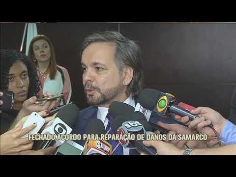 Vale confirma acordo para reparação de danos da Samarco