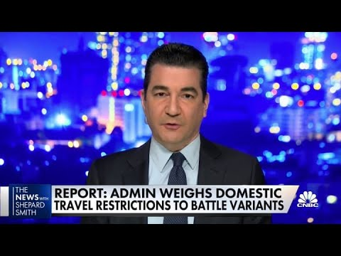 Dr. Scott Gottlieb says 'more dangerous' Covid variant unlikely a ...