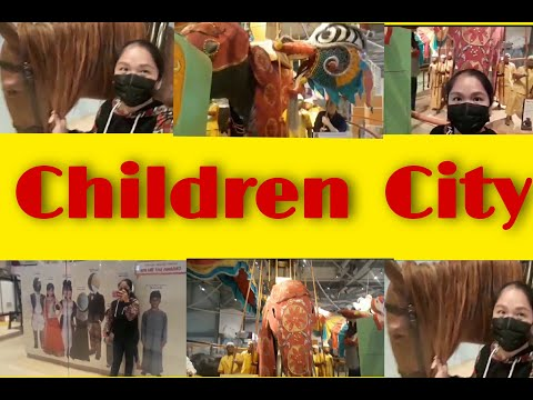 The Children City in Dubai #OfwUAE  #happy2020!