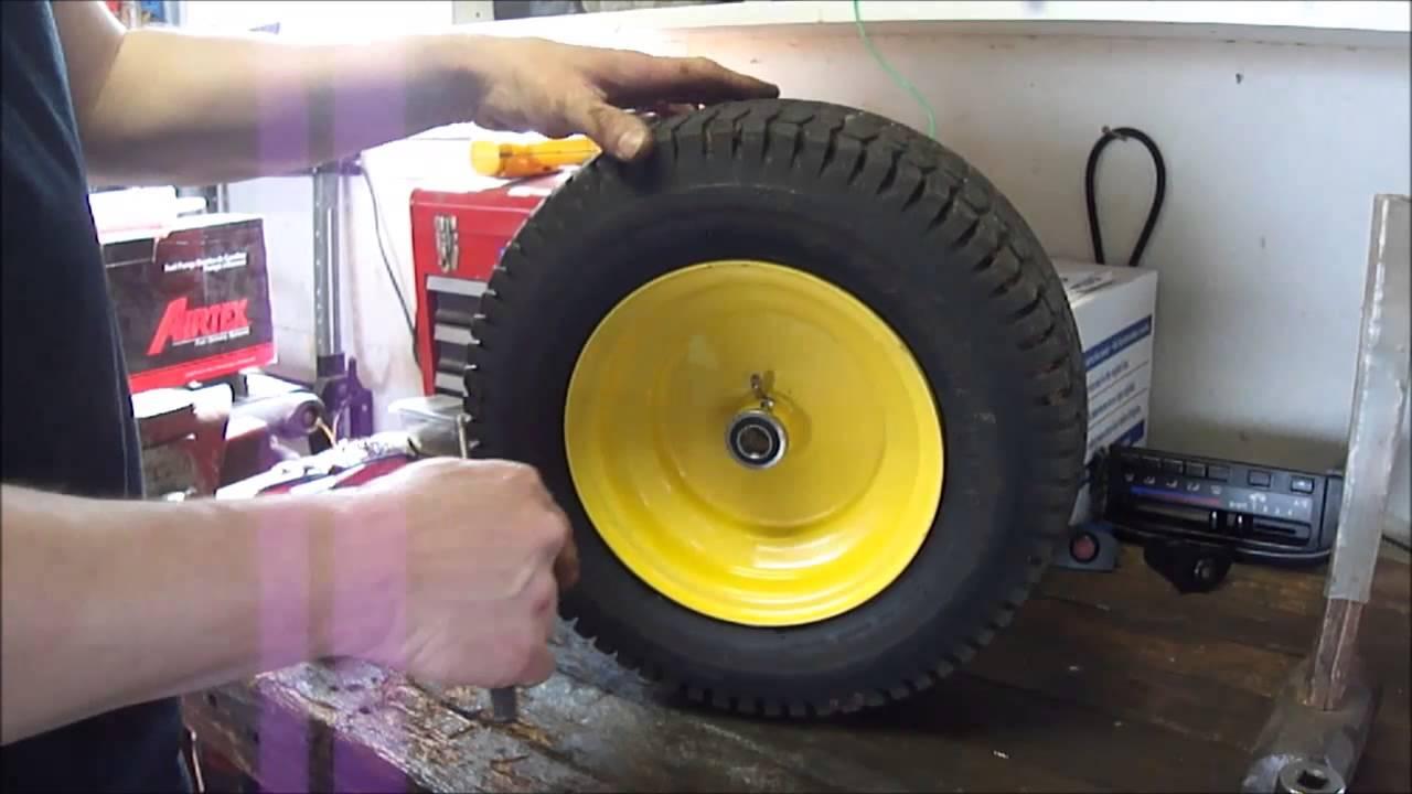 John Deere L130 Front Wheel Bearing Upgrade