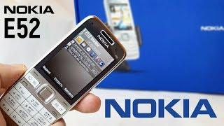 Nokia E52: эволюция бизнес-класса (2009) - ретроспектива