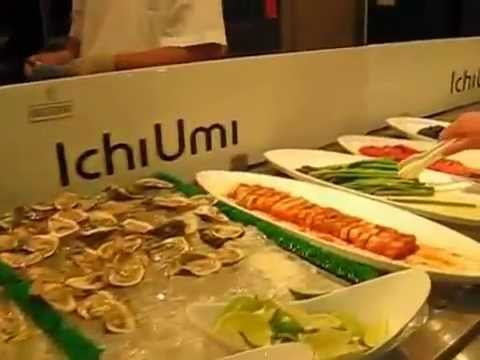 biggest sushi buffet at ichi umi sushi and seafood buffet in nyc rh youtube com