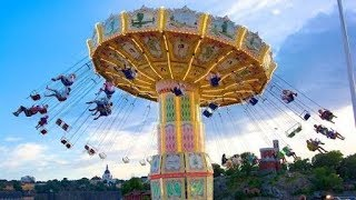 A day in Tivoli gardens 2017   Tivoli rides Copenhagen Denmark