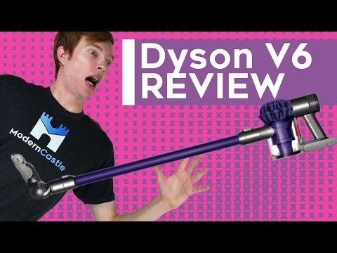 Dyson V6 Review - Cordless Stick Vacuum Cleaner