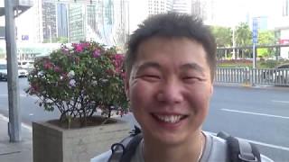 Короткая встреча с Олегом - Наши в Китае #2-2