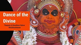 Kanathoor Nalvar Bhoothasthanam - Theyyam