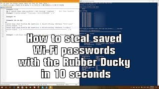 Gambar cover How to steal saved Wi-Fi passwords with the Rubber Ducky in 10 seconds