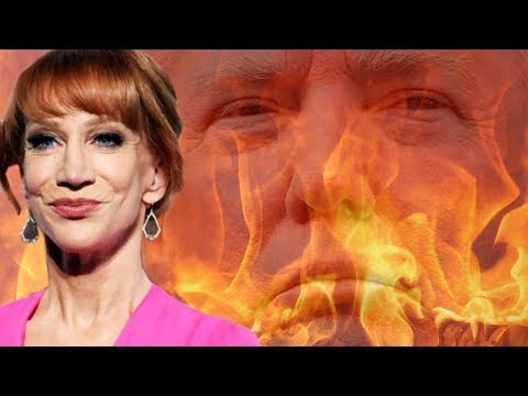 Kathy Griffin exposes Trump's atrocities to Australia!