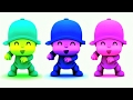 Baby Learn Colors With Talking Pocoyo Colors Reaction Compilation, Funny Educational Video